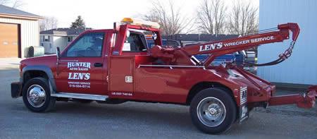 24 Hour Aaa Towing Len S 24 Hr Wrecker Service